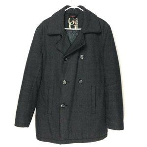 Guess Women's Trench Coat Jacket Coat Wool Small